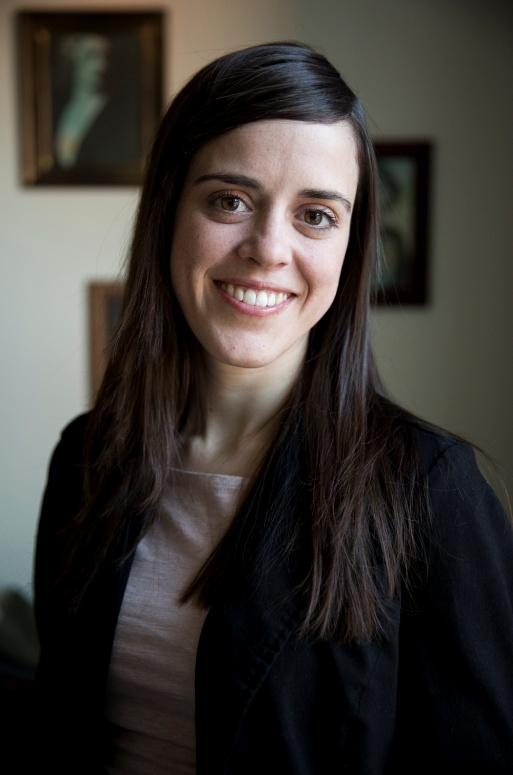Mélodie Hébert, fondatrice et directrice de Galeries Montréal. Photo courtoisie de la directrice. 2013