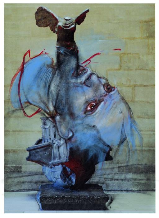 Aloyisias Alevratos-Victoire de Samothrace - Extrait de l'album Les Fant+¦mes du Louvre_Enki Bilal