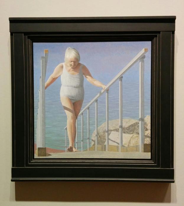 Colville-Femme sur rampe