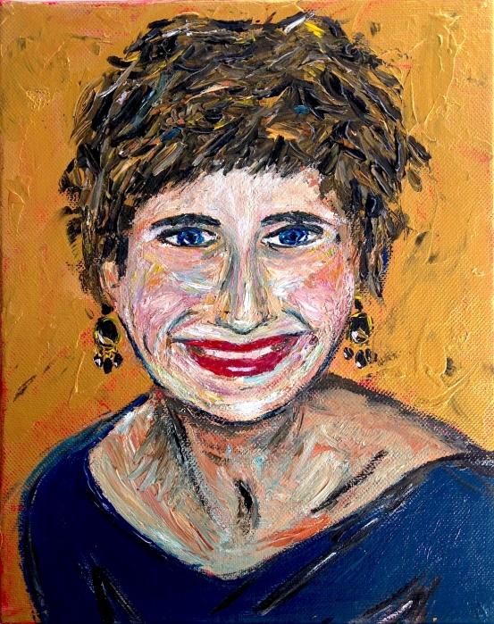 SoniaFrangeul-autoportrait